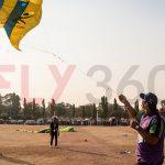 Man flying kite - Kite Flying Show & Event