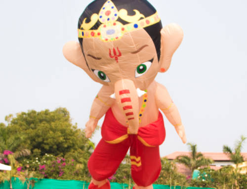 New Trend of Kite Flying During Ganesh Chaturthi