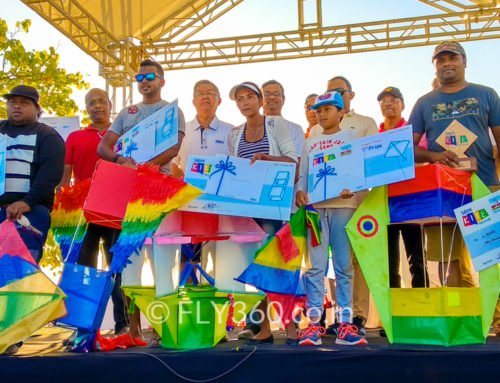 First Kite Festival and Competition in Mauritius: Flying Kites with the President!